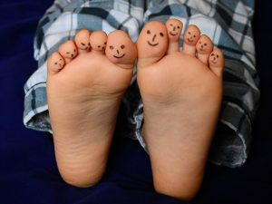 Palce na nohách