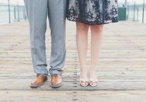 Nohy ženy a muža